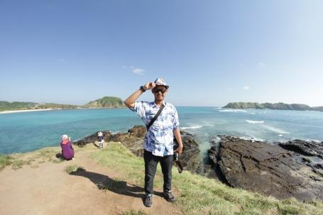 Enjoy Lombok at Tanjung Aan